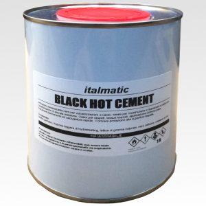 Black-Hot-Cement-1-Litro-collante-attivatore-per-vulcanizzazioni-a-caldo
