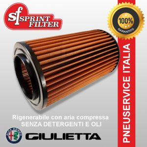 Filtro Aria sportivo Sprintfilter C491S