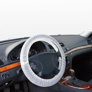 Coprivolante elastico trasparente dispenser 100pz