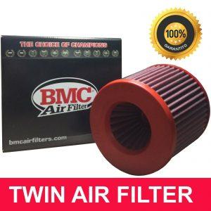 Filtro Aria Conico sportivo BMC FBTW76-140P Doppio flusso di aspirazione lavabile 4