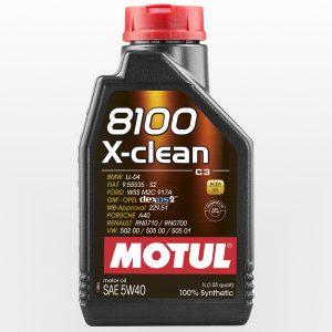 Olio Motore Motul 8100 x-clean 5w40