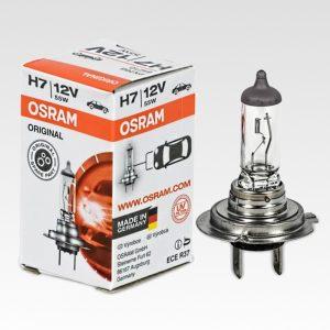 Osram H7 Original 12V 55W Lampadina di ricambio
