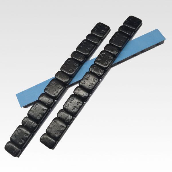 Pesi piombi contrappesi adesivi neri per equilibratura cerchi moto